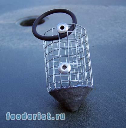 ракета для ловли рыбы подо льдом